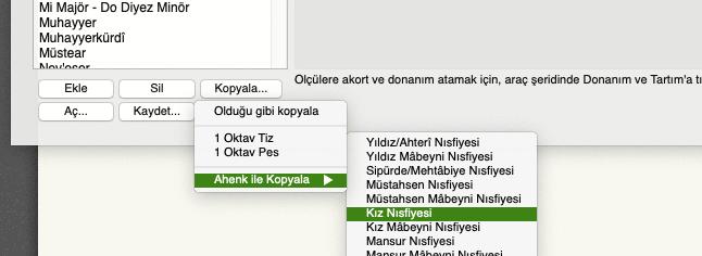Mus2 akort ekranı kopyala menüsü ahenk ile kopyalama seçeneği
